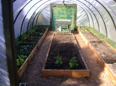 Every Greengrower Tunnel House includes double size openings at each end  which can be closed off with polythene roll up door curtians, or vented  with a ...